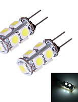 G4 W 9 SMD 5050 90~100 LM Warm White/Cool White Bi-pin Lights DC 12 V