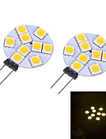 Bi-pin Lights , G4 W 9 SMD 5050 LM Warm White/Cool White DC 12 V