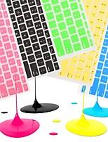 coosbo® coloré en silicone peau de couverture de clavier pour 11