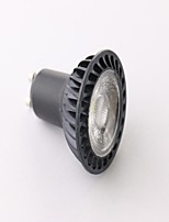 GU10 5 W 1 COB 460 LM Warm White MR16 Dimmable Spot Lights AC 85-265 V