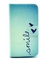 Для Кейс для Huawei Кошелек / Бумажник для карт / со стендом Кейс для Чехол Кейс для Слова / выражения Твердый Искусственная кожа Huawei