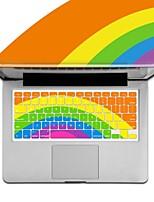 XSKN clavier arc-en silicone housse de protection pour Apple MacBook Air / MacBook Pro / MacBook Pro rétine