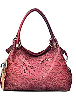 VUITTON ® Women PU Barrel Shoulder Bag / Tote - Red