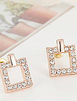 Vintage/Cute/Party Alloy/Cubic Zirconia Stud Earrings