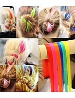 1pc Punk Fluorecent Colors Hair Piece/Perm&Cut Feasible