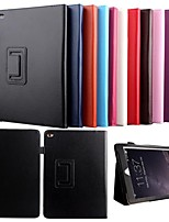 KARZEA® Lichi Grain Auto Sleep & Wake-Up PU Leather Case with Stand and Stylus for iPad Air 2/iPad 6(Assorted Colors)