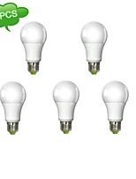 Ampoules Globe Gradable Blanc Chaud DUXLITE 5 pièces A E26/E27 11 W 1 COB 1050 LM 3000 K AC 100-240 V