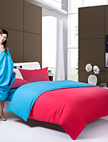 Ensembles housse de couette Polyester - Bleu/Rouge
