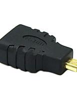 sensecheering 0.1M 0.328ft זכר מיקרו HDMI למחבר HDMI v1.4 HDMI נקבה