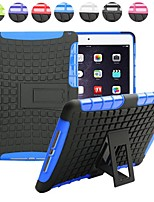 Two-in-One Tire Grain Design PC and Silicone Case with Stand for iPad Air 2 (Assorted Colors)