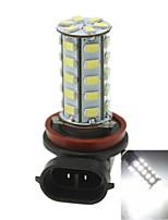 H8 20w 36x5730smd 800-1200lm 6000-6500k lumière blanche Ampoule LED pour la lampe de brouillard voiture (1pcs / ac12-16v)