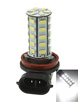 h8 20w 36x5730smd 800-1200lm 6000-6500K luz blanca llevó el bulbo de lámpara de la niebla del coche (1pcs / ac12-16v)