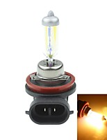 H8  PGJ191 35W Plated Yellow for Car Headlights Headlights Fog Lights 12V