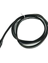 1m 3.3ft micro USB naar 3,5 mm headset-kabel adapter voor samsung telefoons (assorti kleur)