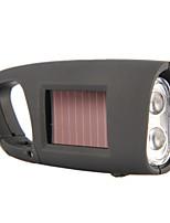 Solar Power Generation LED Portable Flashlight