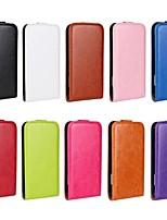 Clapet ouvert grain de cheval en cuir PU étui complète du corps pour HTC One X (couleurs assorties)