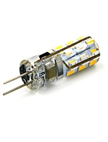 2W G4 LED Bi-pin Lights 24 SMD 3014 90~110 lm Warm White DC 12 V
