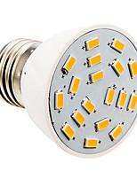 Kerzenlampen E26/E27 4 W 280 LM 2500-3500 K 18 SMD 5730 Warmes Weiß AC 110-130 V