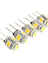 G4 2.5W 5*SMD 5050 150-180LM 3000K Light LED Bulb for Car Reading Light(DC 12V)