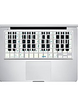 XSKN Beat Notes Keyboard Protective Film Skin Cover for MacBook Air /MacBook Pro/MacBook Pro Retina