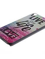 Pour Coque HTC Motif Coque Coque Arrière Coque Mot / Phrase Dur Polycarbonate pour HTC