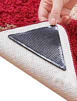 8 peças incríveis reutilizáveis triângulo lavável não derrapante Mat pinças tapete skid tapete etiquetas