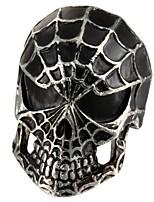 Кольца В форме черепа Повседневные Бижутерия Титановая сталь Массивные кольца8 Бронза