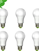 Ampoules Globe Gradable Blanc Froid DUXLITE A E26/E27 10 W 1 COB 1020 LM 6000 K AC 100-240 V