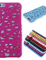 Para Funda iPhone 6 / Funda iPhone 6 Plus En Relieve Funda Cubierta Trasera Funda Diseño Geométrico Dura PolicarbonatoiPhone 6s Plus/6