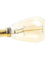 Lâmpada Redonda LED E14 30W 200-260 LM 2700-3500 K Branco Quente 1 AC 100-240 V