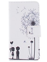 Dandelion PU Leather Case Cover with Stand and Card Slot for Sony Xperia Z1 Compact D5503