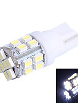 GC® T10 1.8W 24x3020 SMD 200LM 6000K White LED for Car Turn Steering Light (DC 12-24V)