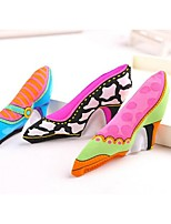 Cute High-Heeled Shoes Shaped Canvas Chewing Toys for Pet Dogs(Assorted Colours)