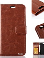 For Sony Case Wallet / Card Holder / with Stand / Flip Case Full Body Case Solid Color Hard PU Leather for Sony Sony Xperia Z3 Compact