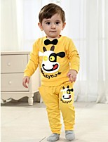 Children's Set Spring and Autumn Long Sleeve Sets Tshirt and Pants Baby Set Two Pieces Sets