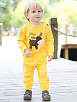 Children's Set Spring and Autumn Clothing  Sets Long Sleeve Tshirt and Pants Baby Set Baby Clothes Twinset Baby Sets