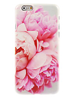 Para iPhone 8 iPhone 8 Plus iPhone 7 iPhone 7 Plus iPhone 6 iPhone 6 Plus Case Tampa Estampada Capa Traseira Capinha Flor Rígida PC para