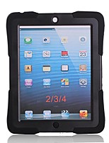 Hybrid Armor Series Shockproof Silicone Protective Case Cover with Kickstand for iPad 4/3/2 (Assorted Color)