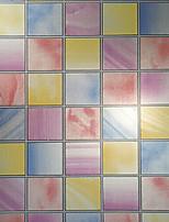 ванная комната мозаика кухня стикеры окна водонепроницаемая бумага витраж непрозрачная пленка