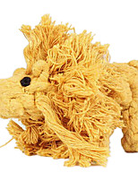 Lion Shape Rope Textile Chew Toys For Dog