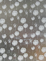 Foil stickers window grilles paper translucent frosted opaque window decals dandelion