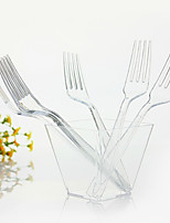 Disposable Transparent Plastic Dinner fork,1000Pcs/set