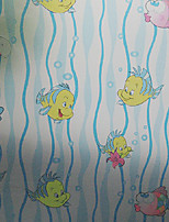 Cartoon colored window glass sliding door stickers sun-proof film translucent opaque safety film