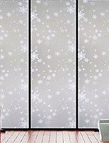 High-grade printing foil opaque frosted snowflake window stickers
