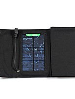 7W 5V 1.3A External USB Solar Power Panel Folding Charger Charging Bag for iPhone6/6plus/Samsung/other Mobile Devices