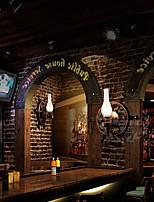 Mini Style Wall Sconces , Rustic/Lodge E26/E27 Wood/Bamboo