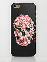 Para Funda iPhone 6 / Funda iPhone 6 Plus Diseños Funda Cubierta Trasera Funda Calavera Dura PolicarbonatoiPhone 7 Plus / iPhone 7 /