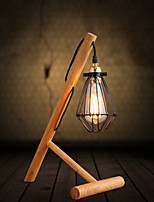 Desk Lamps Arc Rustic/Lodge Wood/Bamboo