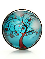 Vilam® Life Tree Peace Tree Windy Branch Cabochon Time Gem Brooch