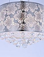 Chandeliers Crystal Modern/Contemporary Living Room/Bedroom/Study Room/Office Metal